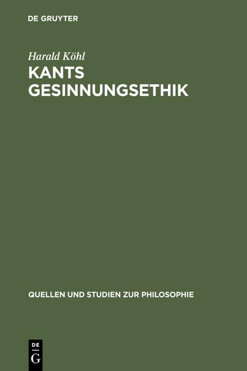 Kants Gesinnungsethik