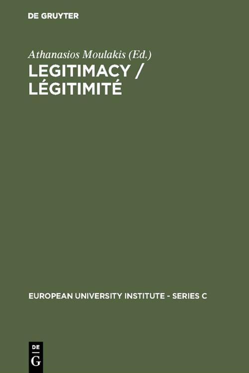 Legitimacy / Légitimité