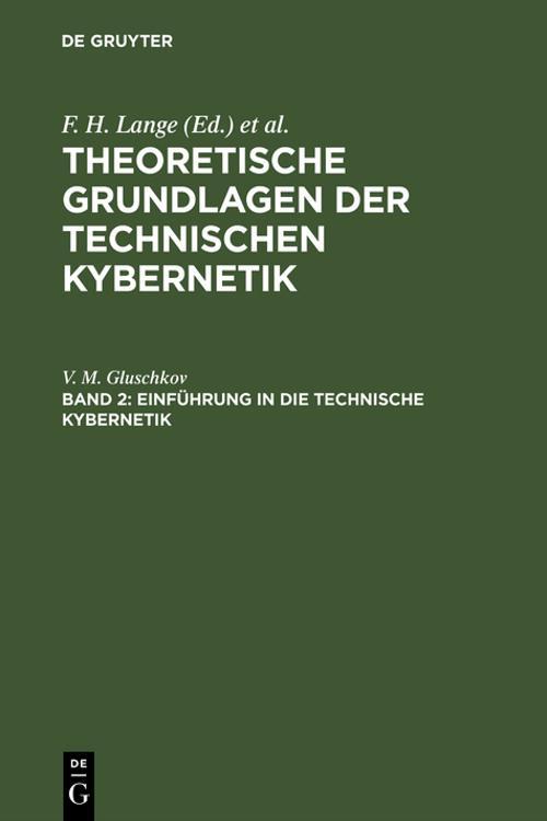 Einführung in die technische Kybernetik