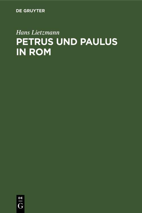 Petrus und Paulus in Rom