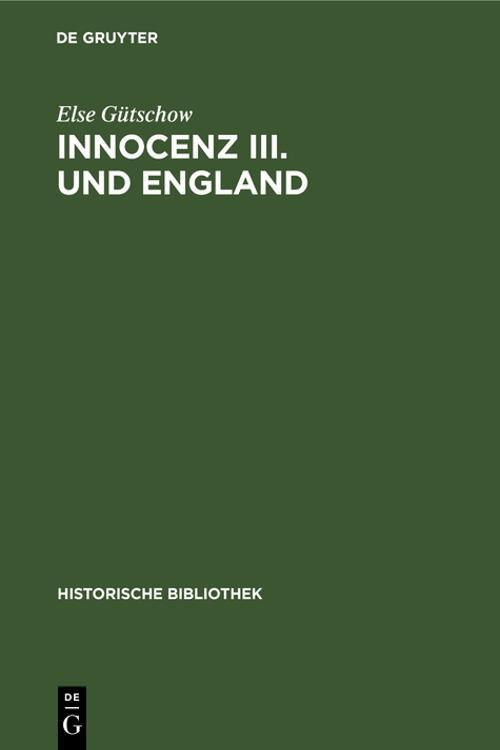 Innocenz III. und England