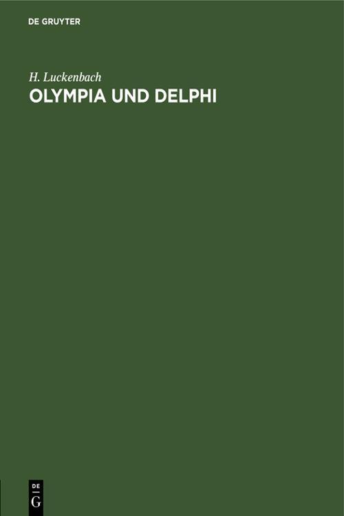 Olympia und Delphi
