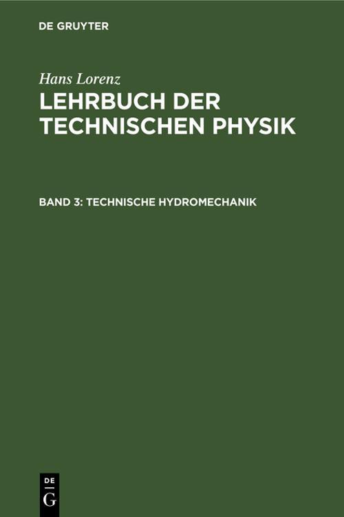Technische Hydromechanik