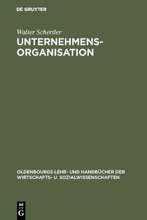 Unternehmensorganisation