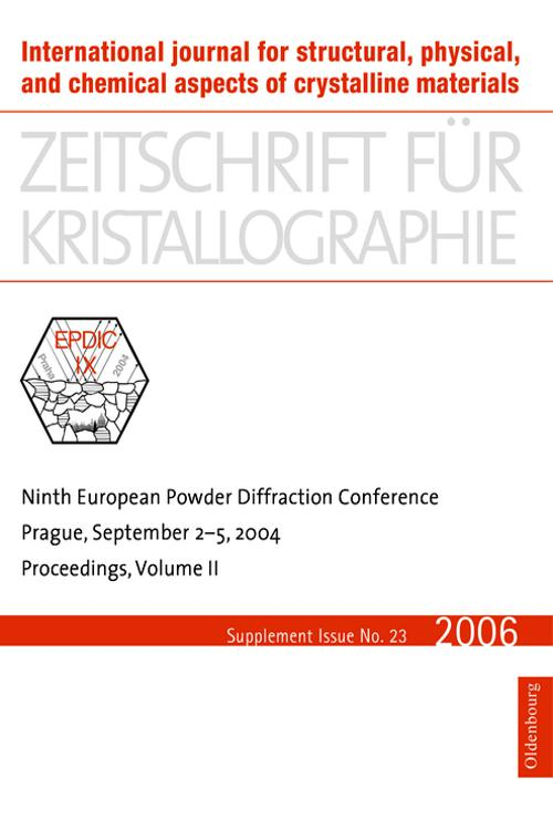Ninth European Powder Diffraction Conference