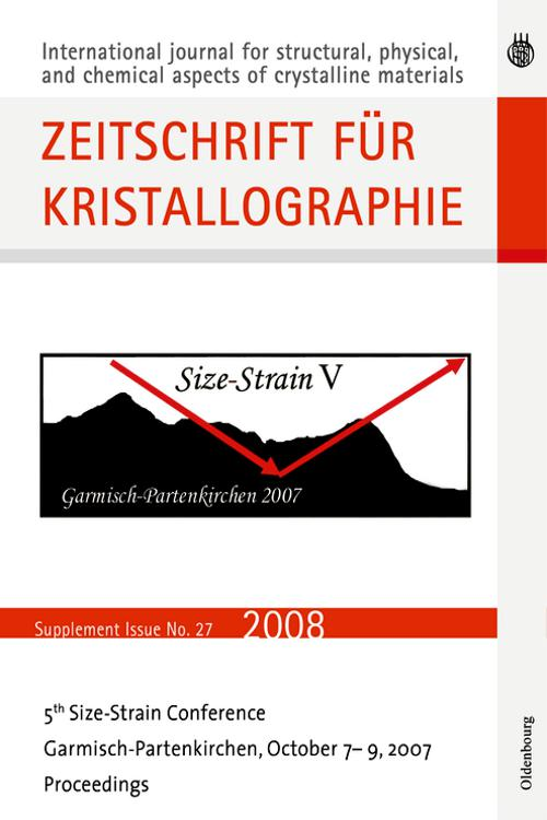 Fifth Size Strain Conference. Diffraction Analysis of the Microstructure of Materials