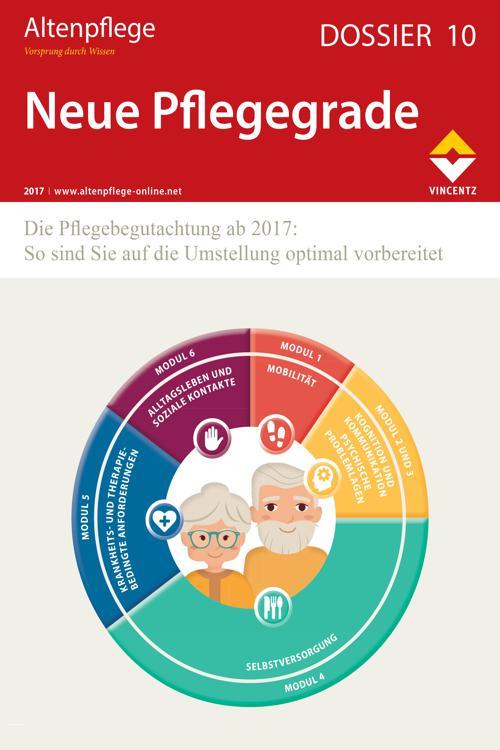 Altenpflege Dossier 10 - Neue Pflegegrade