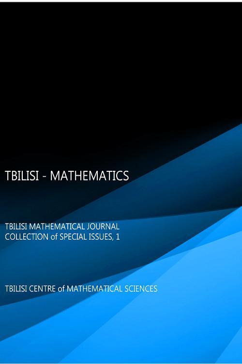 TBILISI - MATHEMATICS