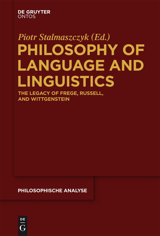 Philosophy of language and linguistics by piotr stalmaszczyk pdf philosophy of language and linguistics fandeluxe Gallery