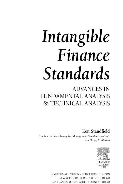 Intangible Finance Standards