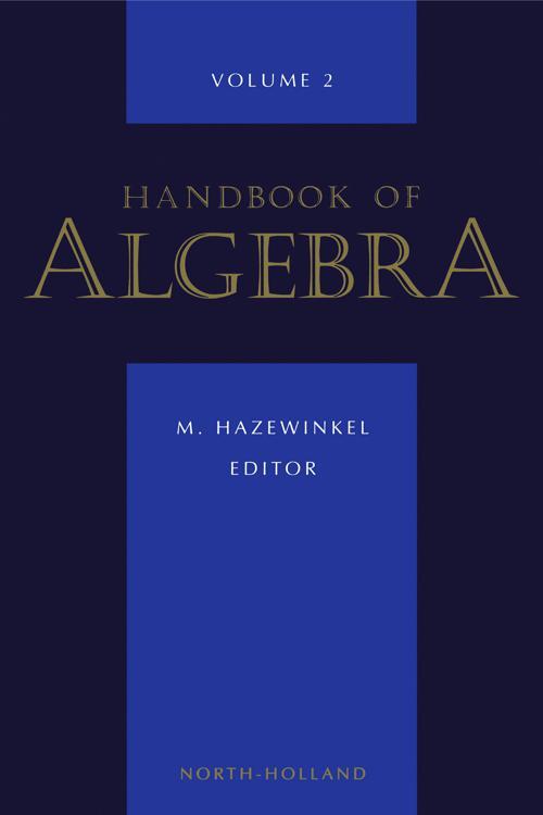 Handbook of Algebra