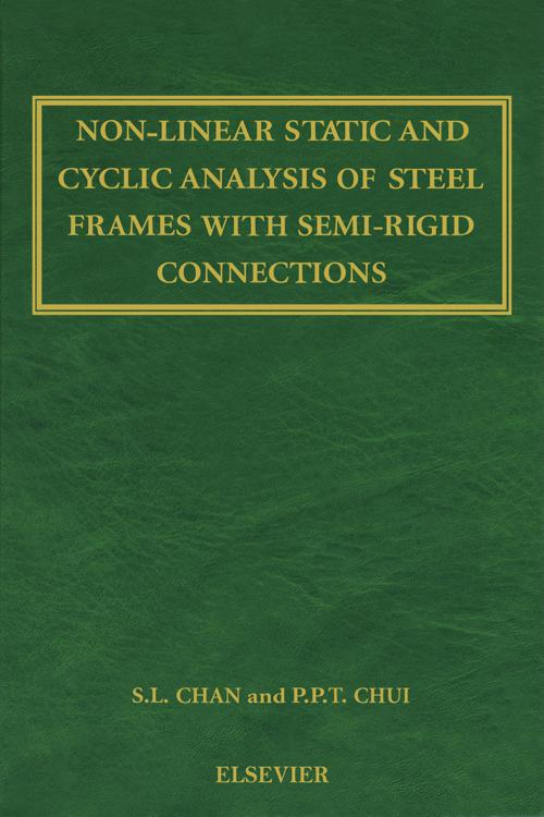 Non-Linear Static and Cyclic Analysis of Steel Frames with Semi-Rigid Connections