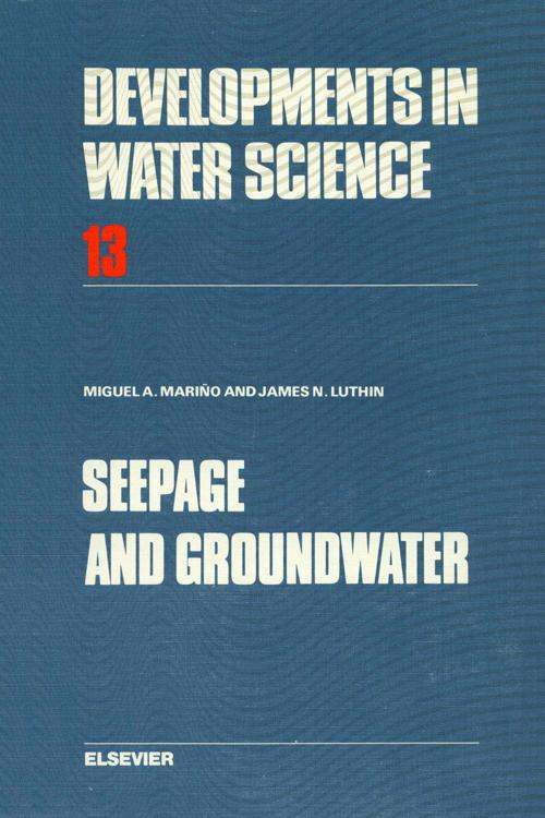 Seepage and Groundwater