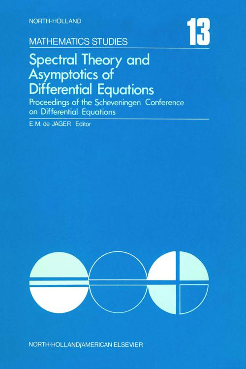 Spectral Theory and Asymptotics of Differential Equations