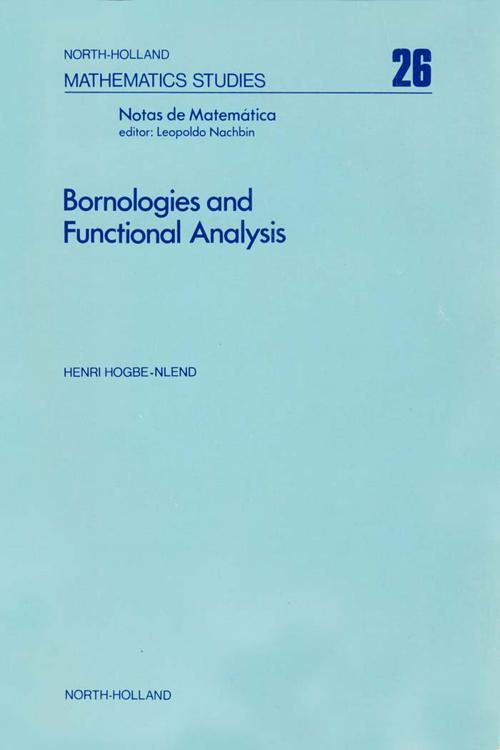 Bornologies and Functional Analysis