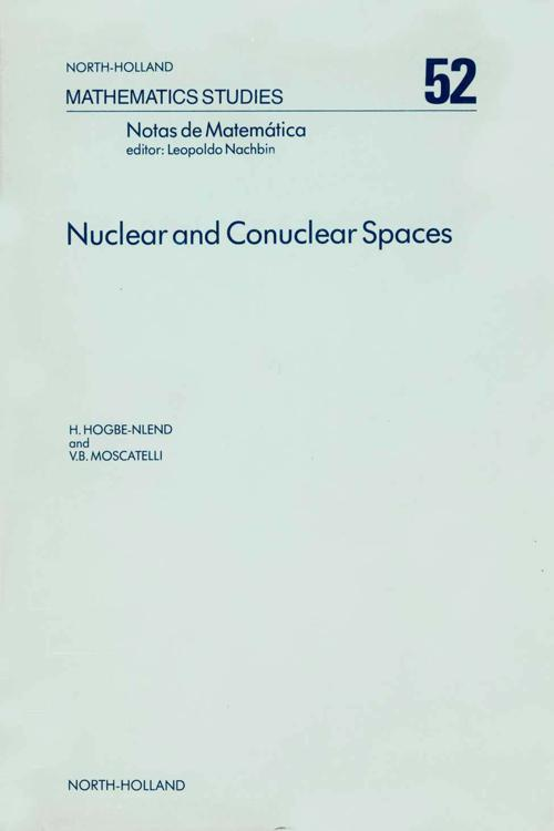 Nuclear and Conuclear Spaces
