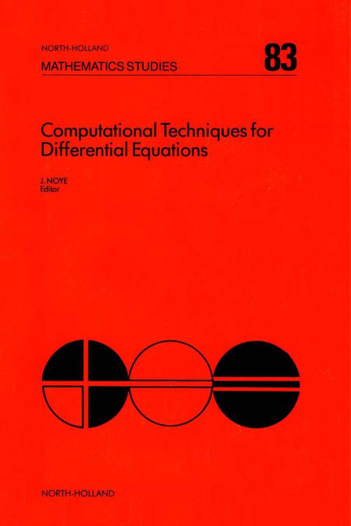 Computational Techniques for Differential Equations