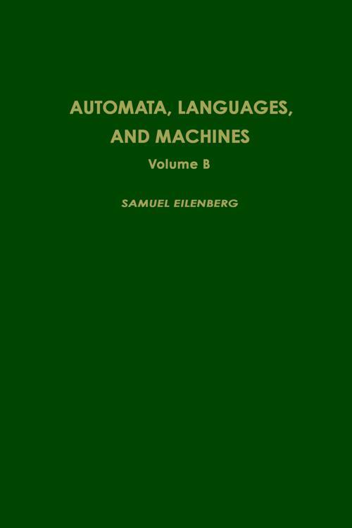 Automata, Languages, and Machines