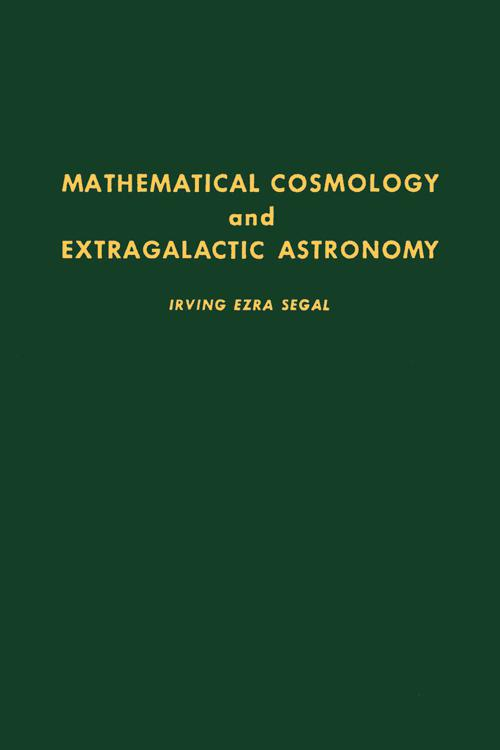 Mathematical Cosmology and Extragalactic Astronomy