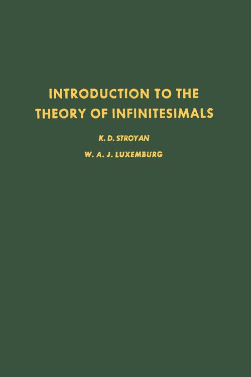 Introduction to the Theory of Infiniteseimals