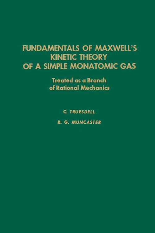 Fundamentals of Maxwel's Kinetic Theory of a Simple Monatomic Gas
