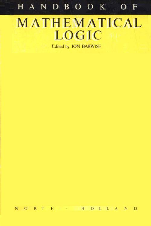 Handbook of Mathematical Logic