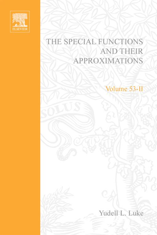 Special Functions and Their Approximations: v. 2
