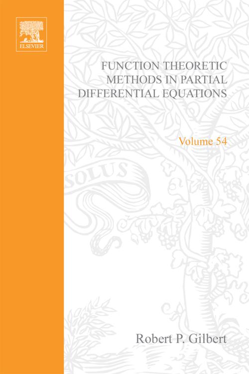 Function Theoretic Methods in Partial Differential Equations