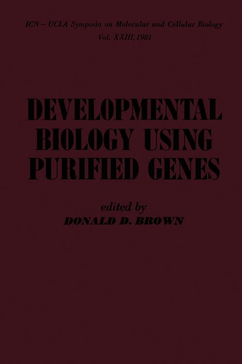 Developmental Biology Using Purified Genes