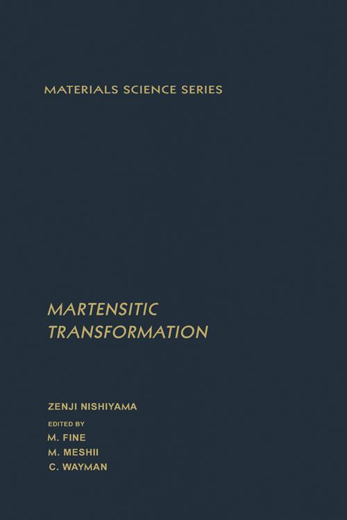 Martensitic Transformation