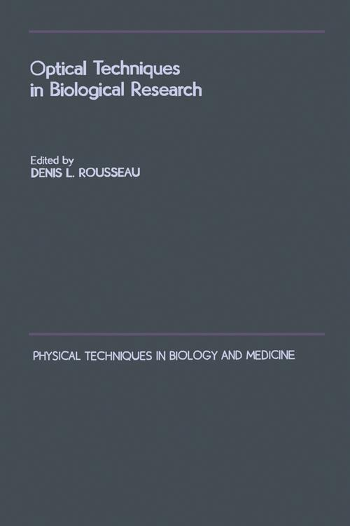 Optical Techniques in Biological Research