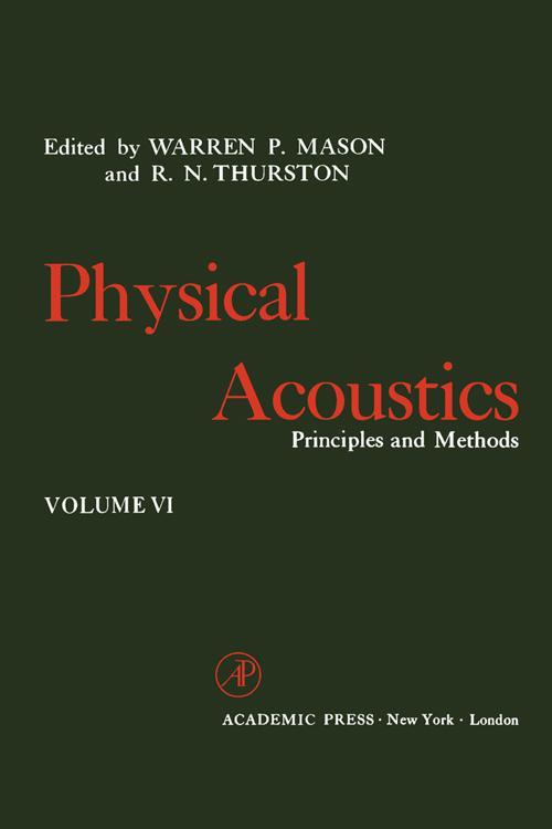 Physical Acoustics V6