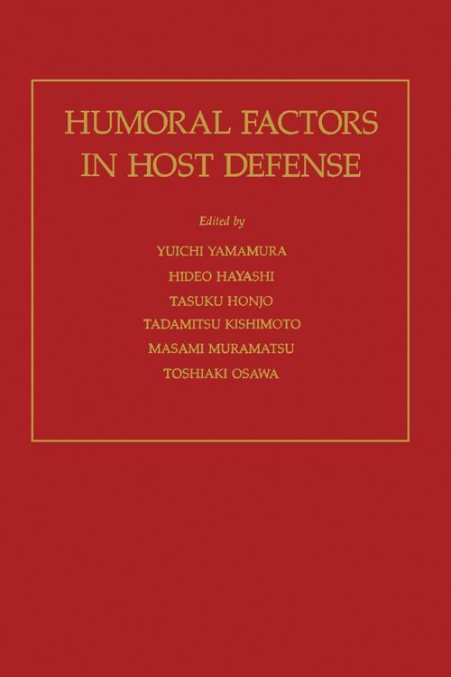 Humoral Factors in Host Defense