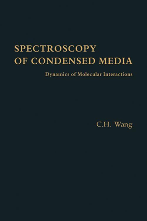 Spectroscopy of Condensed Media