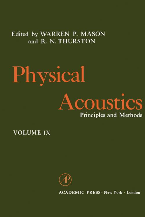 Physical Acoustics V9