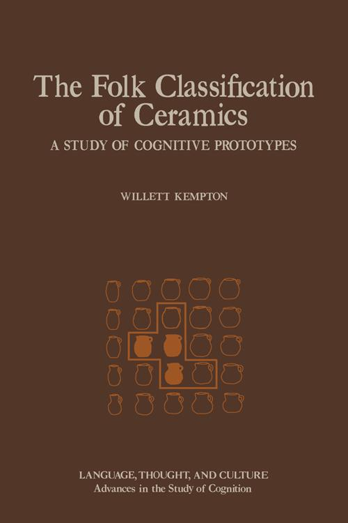 The Folk Classification of Ceramics
