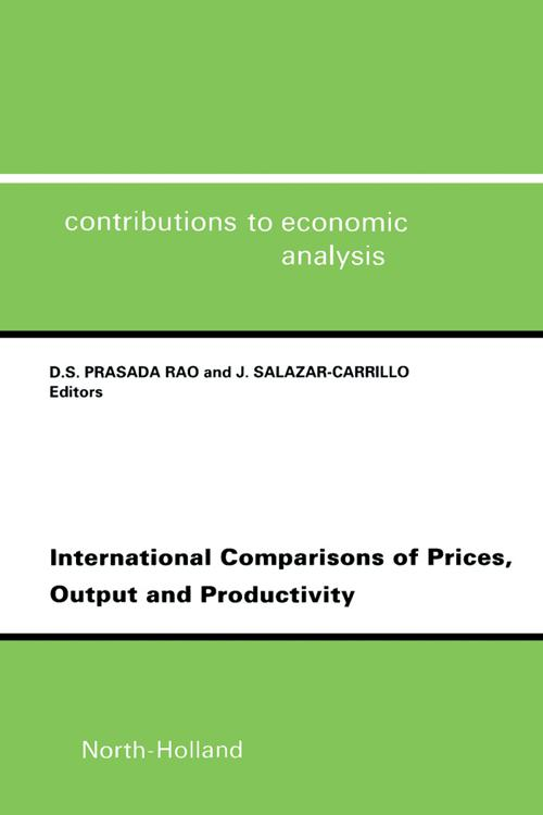 International Comparisons of Prices, Output and Productivity