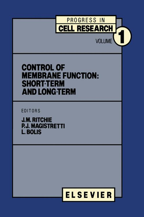 Control of Membrane Function: short-term and long-term