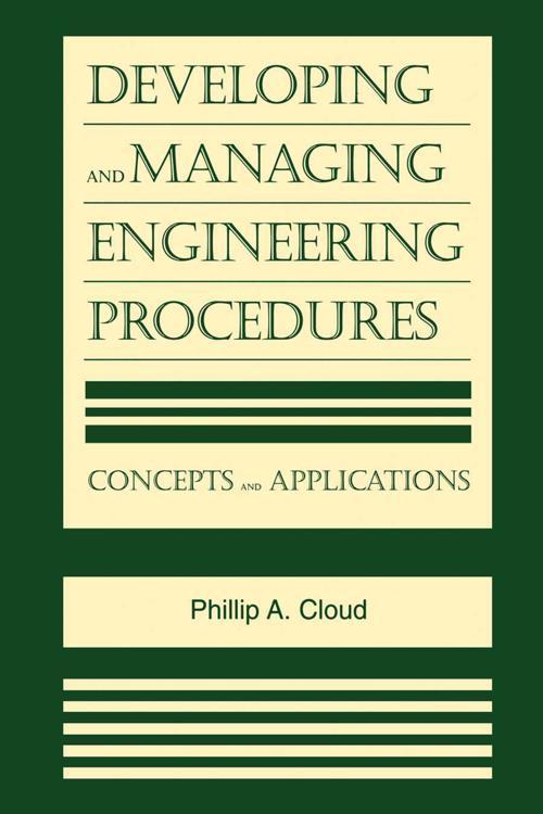 Developing and Managing Engineering Procedures