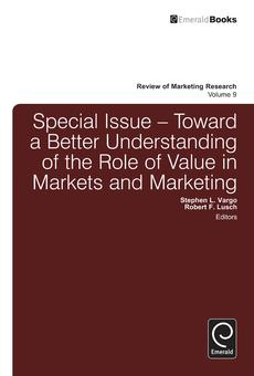 Contemporary strategic marketing 2e by ross brennan paul garneau toward a better understanding of the role of value in markets and marketing fandeluxe Image collections