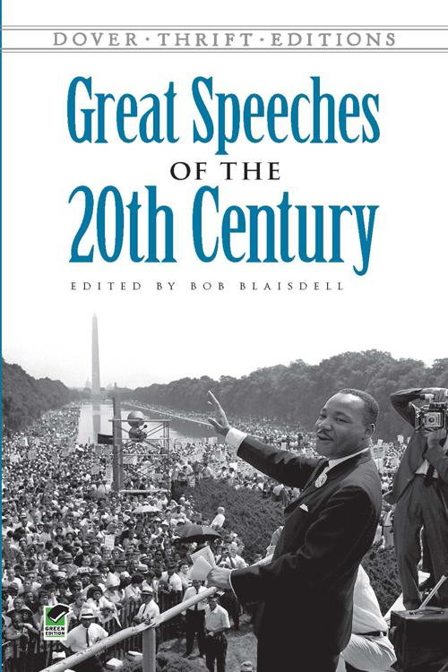Pdf Great Speeches Of The 20th Century By Bob Blaisdell Perlego