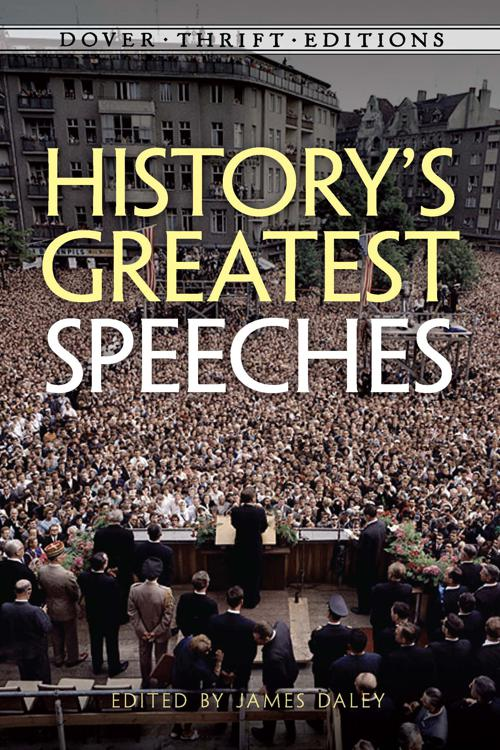 Pdf History S Greatest Speeches By James Daley Perlego
