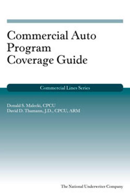 Commercial Auto Program Coverage Guide