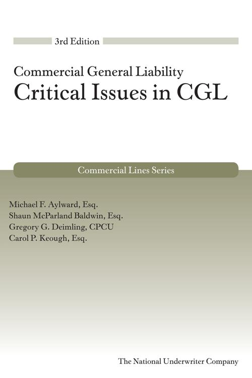 Critical Issues in CGL, 3rd Edition