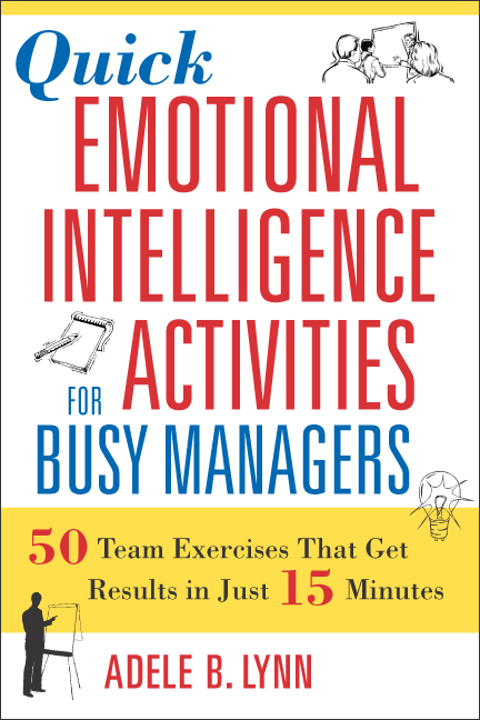 Quick Emotional Intelligence Activities For Busy Managers By Adele