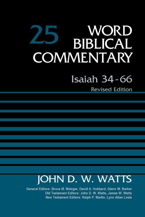 Isaiah 34-66, Volume 25