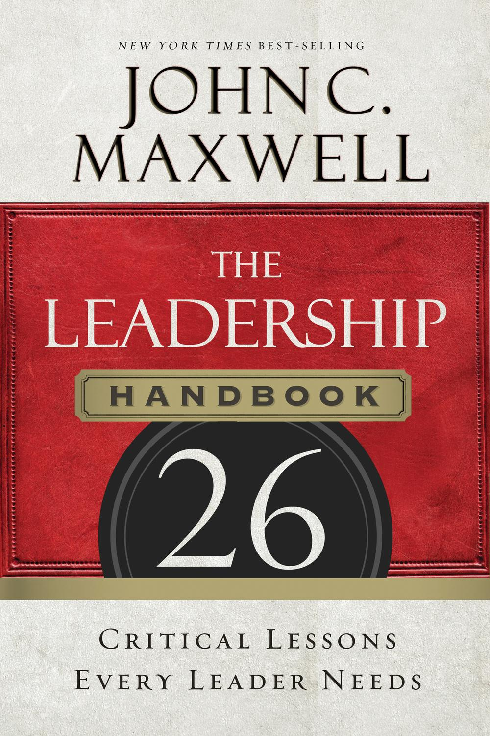 Pdf The Leadership Handbook By John C Maxwell Perlego