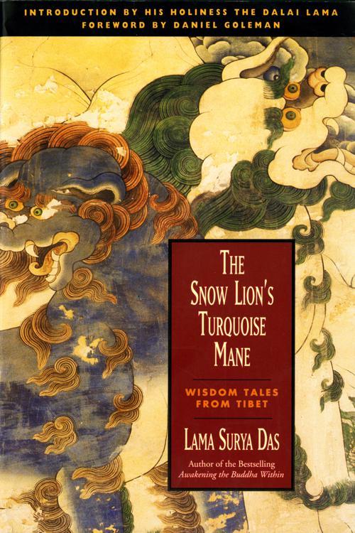 The Snow Lion's Turquoise Mane