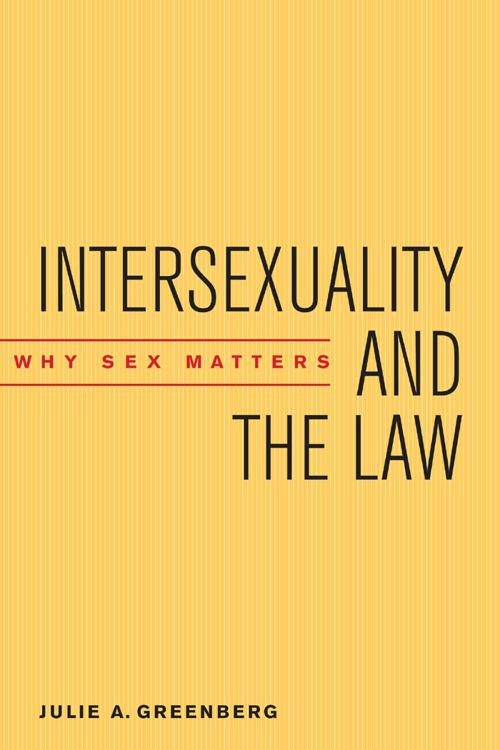 Intersexuality and the Law