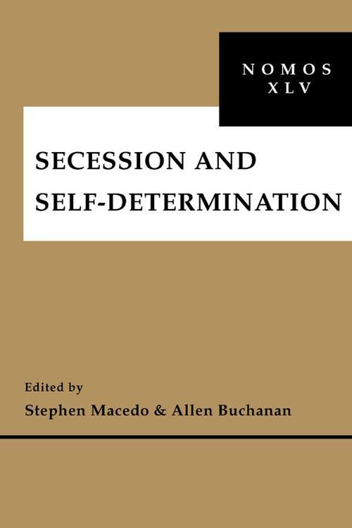 Secession and Self-Determination